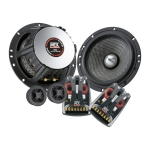 Компонентная автоакустика MTX audio T8652